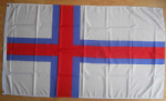 Faroe Islands Large Country Flag - 5' x 3'.